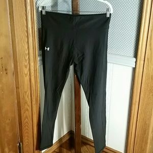 Women's Black Under Armour Leggings